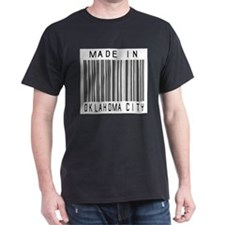 Oklahoma City Barcode T-Shirt