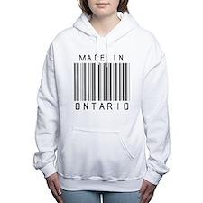 Ontario Barcode Women's Hooded Sweatshirt