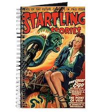 STARTLING STORIES-VINTAGE PULP MAGAZINE COVER Jour