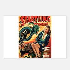 STARTLING STORIES-VINTAGE PULP MAGAZINE COVER Post