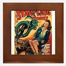 STARTLING STORIES-VINTAGE PULP MAGAZINE COVER Fram