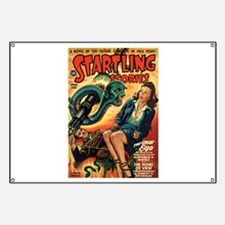 STARTLING STORIES-VINTAGE PULP MAGAZINE COVER Bann
