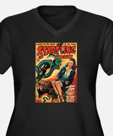 STARTLING STORIES-VINTAGE PULP MAGAZINE COVER Plus