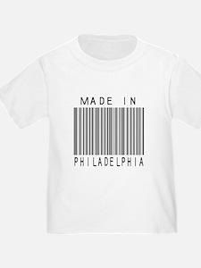 Philadelphia Barcode T-Shirt