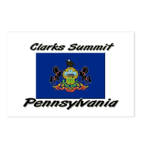 Clarks Summit Pennsylvania Postcards (Package of 8