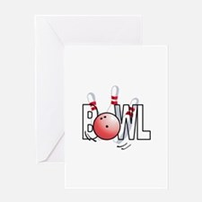 BOWL Greeting Cards