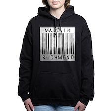 Richmond Barcode Women's Hooded Sweatshirt