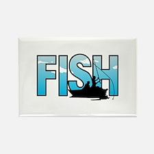 LARGE FISH Magnets