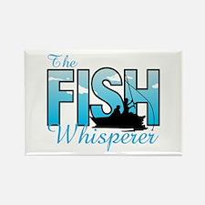 THE FISH WHISPERER Magnets