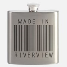 Riverview Barcode Flask