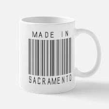 Sacramento Barcode Mugs