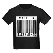 Sacramento Barcode T-Shirt