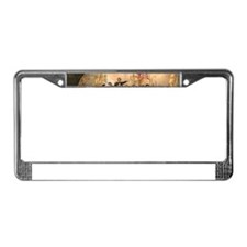 Victory on Lake Erie License Plate Frame