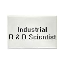 Industrial R & D Scientist Retro Digital J Magnets