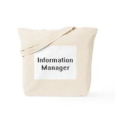 Information Manager Retro Digital Job Des Tote Bag