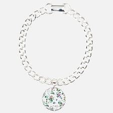 Delicate Floral Pattern Bracelet