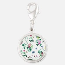 Delicate Floral Pattern Charms
