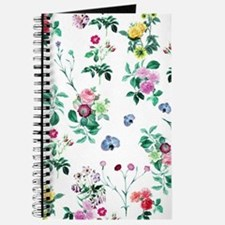 Delicate Floral Pattern Journal