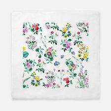 Delicate Floral Pattern Queen Duvet