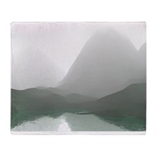 Morning Mist Throw Blanket