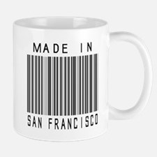 San Francisco Barcode Mugs