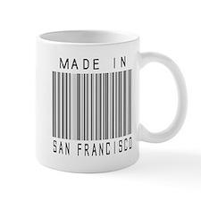 San Francisco Barcode Mugs