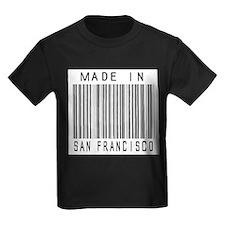 San Francisco Barcode T-Shirt