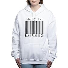 San Francisco Barcode Women's Hooded Sweatshirt