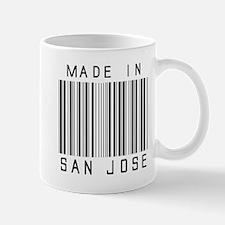 San Jose Barcode Mugs