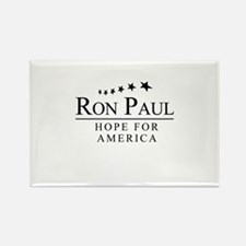 Ron Paul: Hope for America Rectangle Magnet