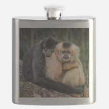 Cute Cute monkeys Flask