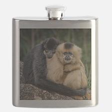 Cute Monkey love Flask