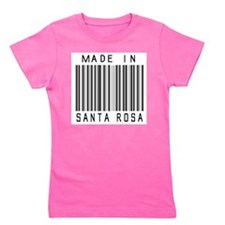 Santa Rosa Barcode Girl's Tee
