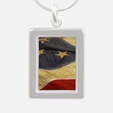 Distressed Vintage American Flag Necklaces
