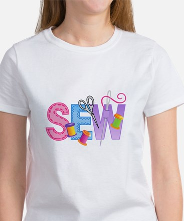 LARGE SEW MONTAGE T-Shirt