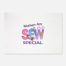 MOTHERS ARE SEW SPECIAL 5'x7'Area Rug