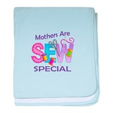 MOTHERS ARE SEW SPECIAL baby blanket