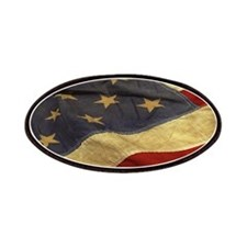Distressed Vintage American Flag Patch