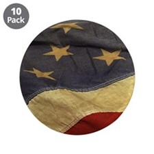 """Distressed Vintage American 3.5"""" Button (10 pack)"""