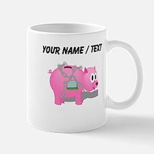 Locked Piggy Bank (Custom) Mugs