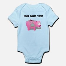 Locked Piggy Bank (Custom) Body Suit