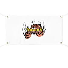 TIGER TEARING THROUGH Banner