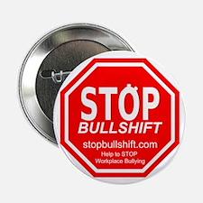 """Stopbullshift 2.25"""" Button (10 Pack)"""