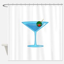 LARGE MARTINI Shower Curtain