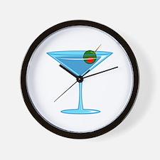 LARGE MARTINI Wall Clock