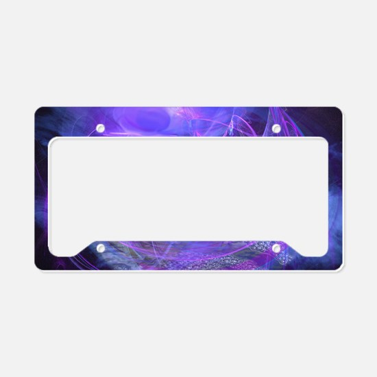 The Moon-Called Sea License Plate Holder