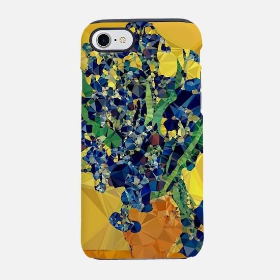Van Gogh Irises Yellow Background iPhone 7 Tough C