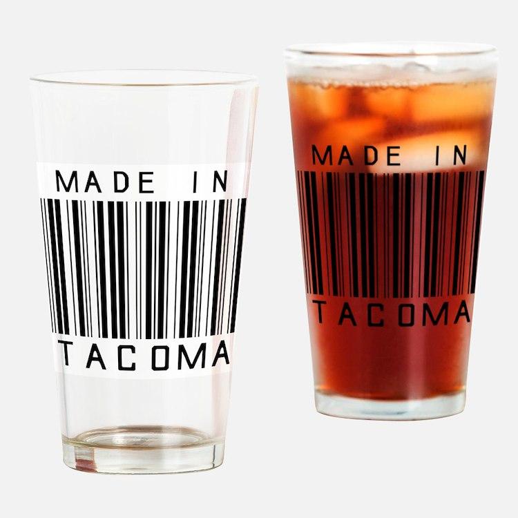 Tacoma Barcode Drinking Glass
