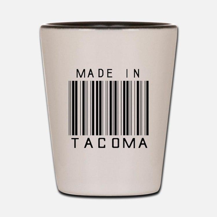 Tacoma Barcode Shot Glass