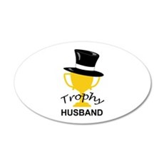 TROPHY HUSBAND Wall Decal
